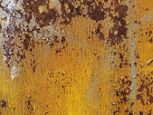 Yellow metal textured — Stock Photo