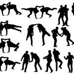 Dancing man — Stock Vector #33212815