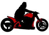 Velocità moto — Vettoriale Stock