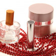 Beads and lotion — Stock Photo #41366743