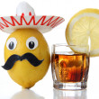 Alcohol of mexico toy — Stock Photo