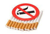 Sign of cigarette — Stock Photo