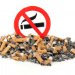 Sign no smoking — Stock Photo #41737071