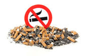 Sign no smoking — Stock Photo