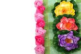 Flowers soap — Stock Photo