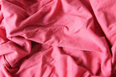 Red cloth background — Stock Photo
