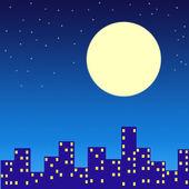 Ville de nuit — Photo