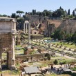 Stock Photo: Ancient Forum in Rome Italy