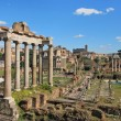 Ancient Forum in Rome Italy — Stock Photo