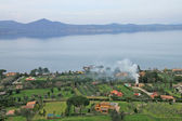 Lake of Bracciano (Lazio, Italy) — Stock Photo