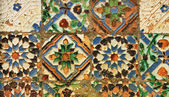 Azulejo (ceramic tile) — 图库照片