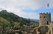 Castle of the Moors (Sintra, Lisbon, Portugal) — Stock Photo