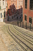 Funicular (Elevador) in Lisbon, Portugal — Stock Photo
