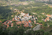 Sintra (Lisbon, Portugal).  Panorama of the city. — Stockfoto