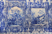 Azulejo (ceramic tile) in Porto — Foto Stock
