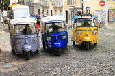 Tuk-tuk in Lisbon (Portugal) — Stock Photo