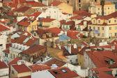 Panoramautsikt över centrala lissabon (portugal), — Stockfoto