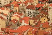 Panoramic downtown Lisbon (Portugal), — Stock Photo