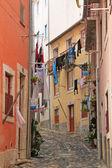 Small street of Lisbon — Stock Photo