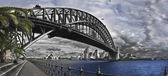 Sydney Harbour Bridge and Opera House. — Stock Photo