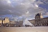 Louvre Museum. Paris, France. — Stock Photo
