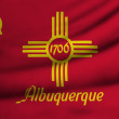 Stock Photo: Flag of Albuquerque