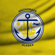 Stock Photo: Flag of Anchorage