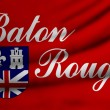Flag of Baton Rouge — Stock Photo