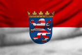 Flag of Hesse — Stock Photo