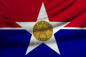 Dallas şehir bayrağı — Stok fotoğraf