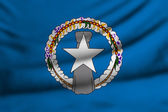 Flag of Northern Mariana Islands — Stock Photo