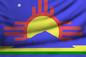 Flag of Roswell — Stock Photo