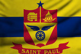 Flag of St. Paul — Stock Photo