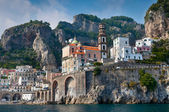 Amalfi Coast from the Sea — Stock Photo