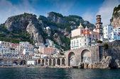 Amalfi Coast from the Sea — Stock Photo