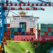������, ������: Loading Container Ship