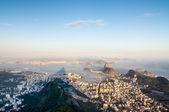 Rio de Janeiro from Corcovado, Brazil — Stock Photo