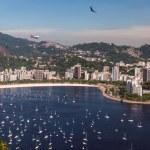 Botafogo Beach and Guanabara bay, Rio de Janeiro, Brazil — Stock Photo #25200395