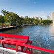 Stock Photo: Inland waterways of Fort Lauderdale, Florida