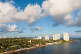 Fort Lauderdale skyline, — Stock Photo