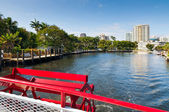 Inland waterways of Fort Lauderdale, Florida — Stock Photo