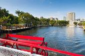 Inland waterways of Fort Lauderdale, Florida — Stock Photo