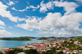 View of Charlotte Amalie, St. Thomas — Stock Photo