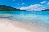 Magens Bay Beach on St Thomas USVI — Stock Photo