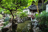Ancient Chinese Architecture and Gardens — Stock Photo