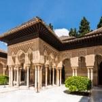 ������, ������: Lions Patio in Alhambra Granada Spain