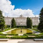 Madrid Royal Palace — Stock Photo