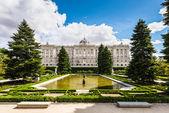 Pałac królewski w madrycie — Zdjęcie stockowe