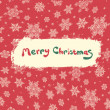 Christmas retro greeting card design. Vector illustration, EPS8 - Stock Vector