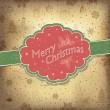 fundo vintage de feliz Natal. ilustração vetorial, eps10 — Vetorial Stock